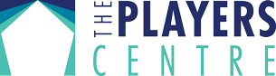 The Players Centre Logo (Color with White Text)